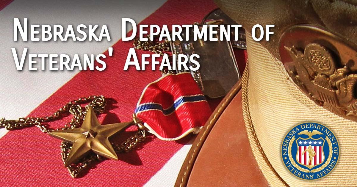 benefits services nebraska department of veterans affairs
