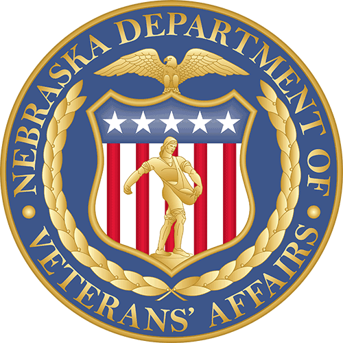 Official Nebraska Veterans' Affairs Seal