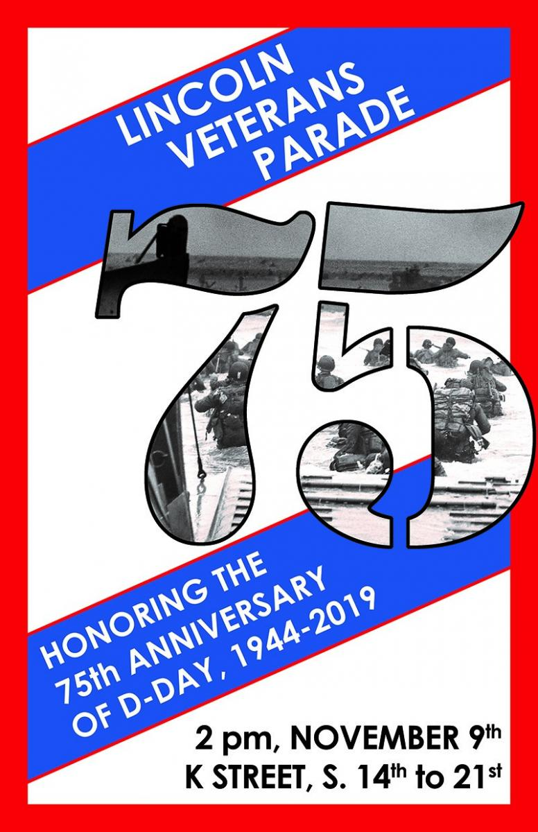 Lincoln Veterans Parade Poster