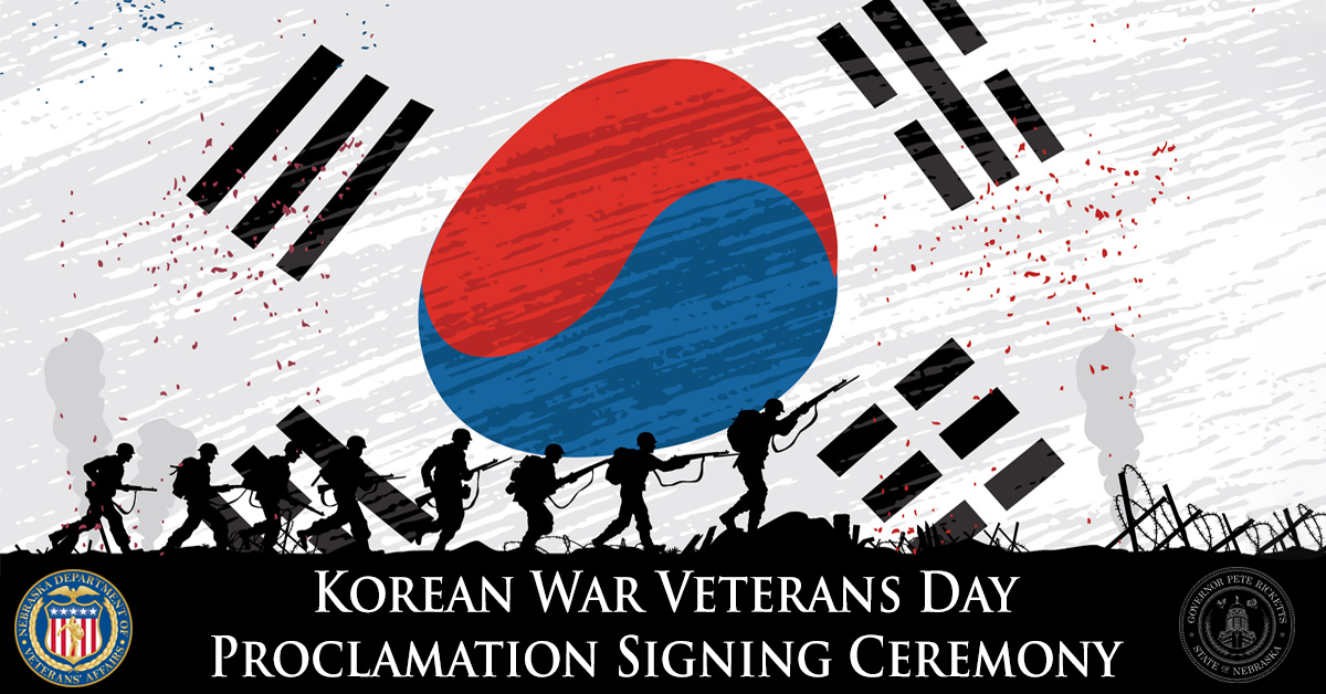 Korean War Veterans Day event