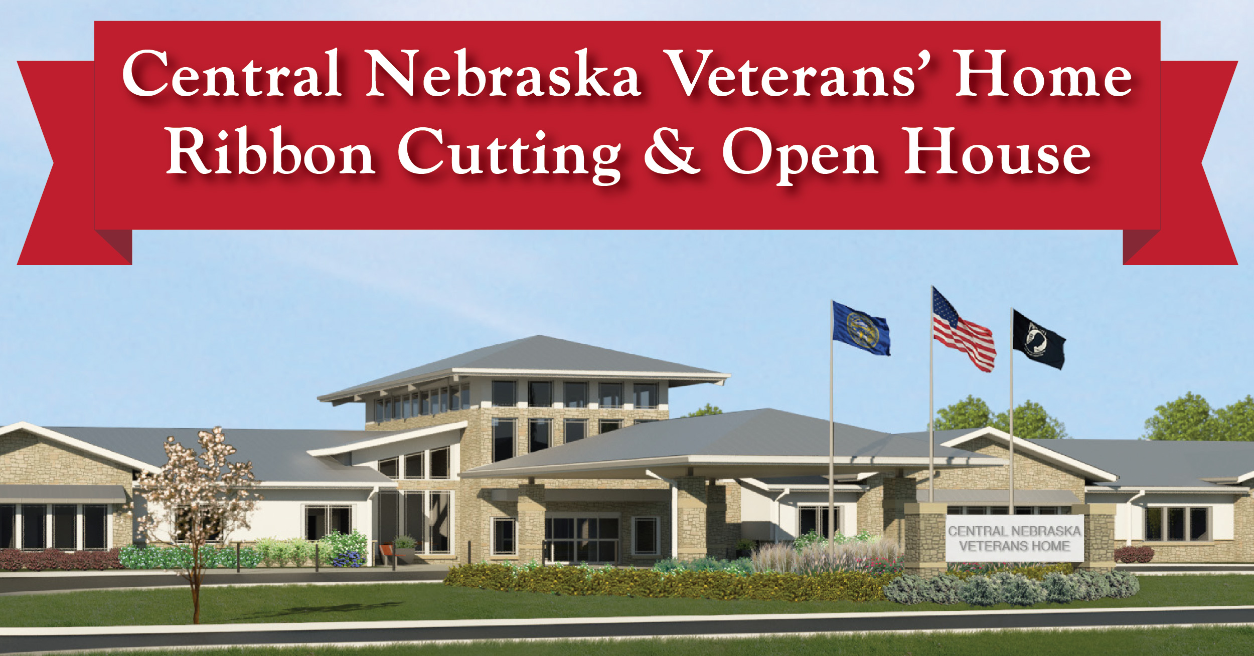 Central Nebraska Veterans' Home Ribbon Cutting