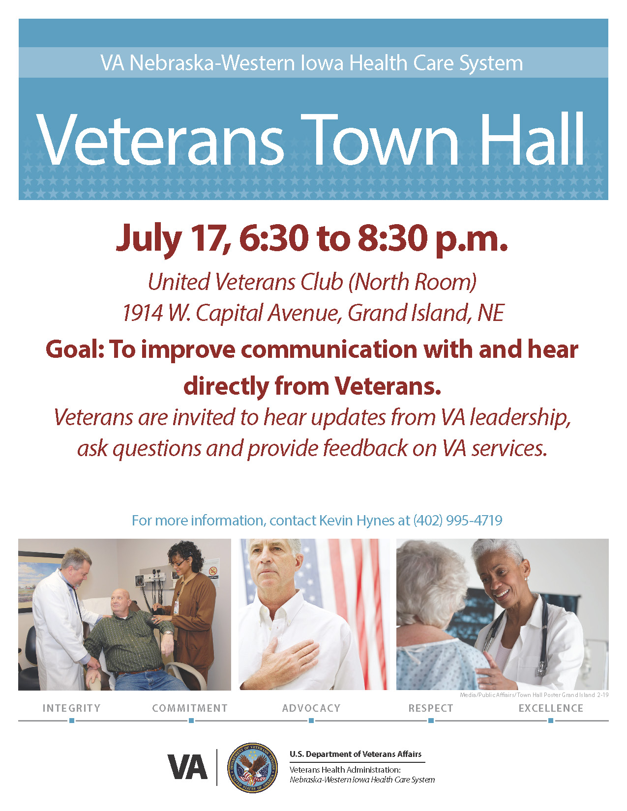 USVA Events   Nebraska Department of Veterans' Affairs