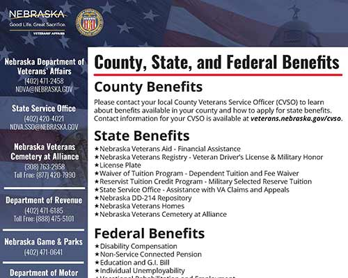 Thumbnail image for County State and Federal Benefits PDF