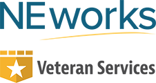 NE Works Veterans Services Logo