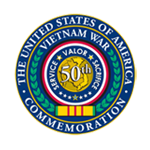 Vietnam War Commemoration 50th Anniversary Seal
