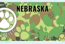 Vets Get Pets license plate design