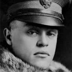 black and white photo of First Lieutenant Jarvis Jennes Offutt